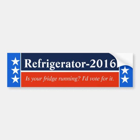 Election frustration bumper sticker