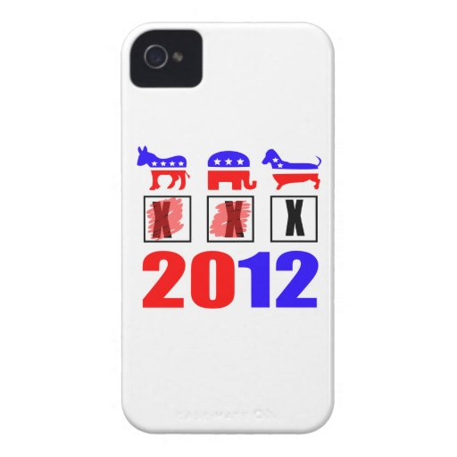 Elections are for the dogs! Case-Mate iPhone 4 cases