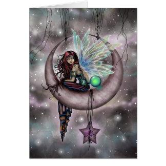 Electra Fae Fantasy Fairy Art by Molly Harrison Card