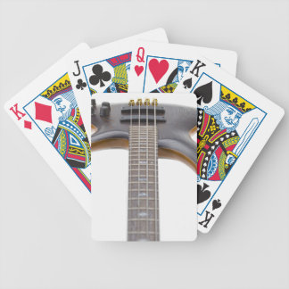Electric Bass Guitar Bicycle Playing Cards