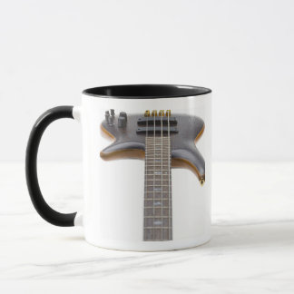 Electric Bass Guitar Mug
