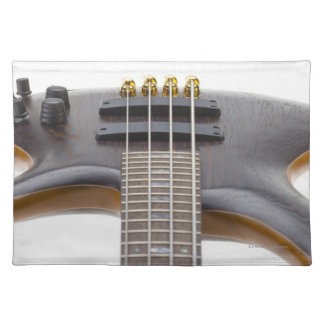 Electric Bass Guitar Placemat
