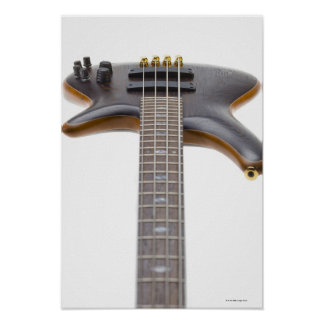 Electric Bass Guitar Poster