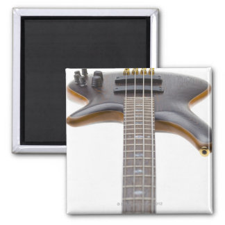 Electric Bass Guitar Square Magnet