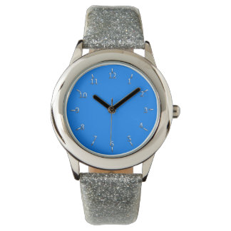 Electric Blue and Silver Watches