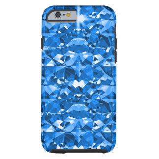 Electric Blue Diamonds Tough iPhone 6 Case