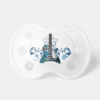 ELECTRIC BLUE GRUNGE SWIRL VECTORS GUITAR MUSIC IN DUMMY