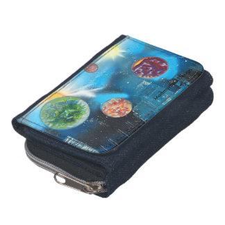 Electric Blue wallet Madmyrtle - Design