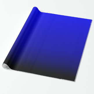 Electric Blue Wrapping Paper