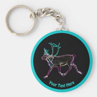 Electric Caribou Key Ring