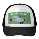 Electric Cars Rule Hat