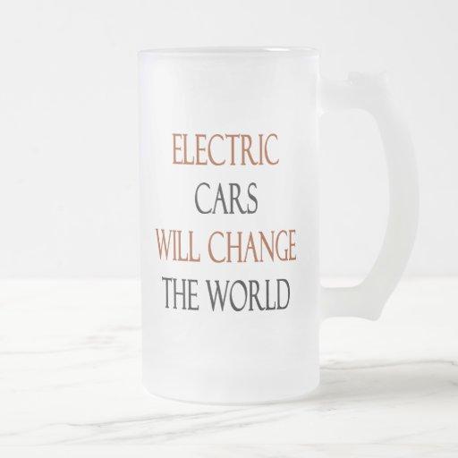 Electric Cars Will Change The World Coffee Mug