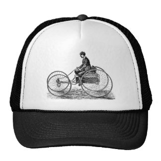 Electric Cart - Vintage Victorian Illustration Trucker Hats