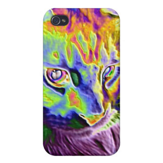 Electric Cat Cases For iPhone 4
