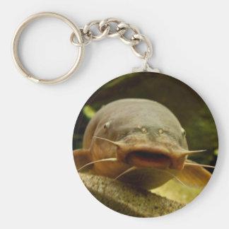Electric catfish key ring