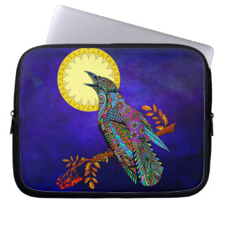 Electric Crow Neoprene Laptop Sleeve
