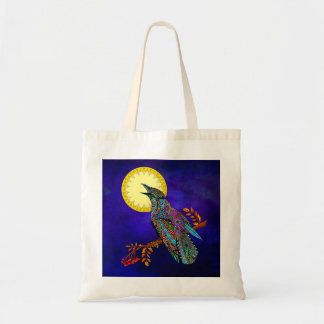 Electric Crow Tote