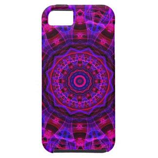 Electric Current kaleidoscope Tough iPhone 5 Case