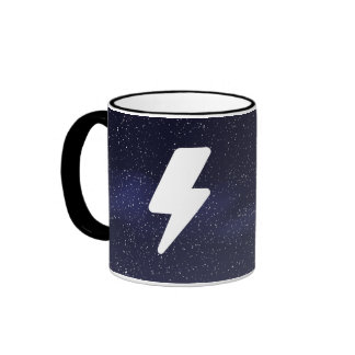 Electric Currents Icon Ringer Mug