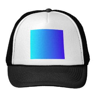 Electric Cyan to Electric Ultramarine V Gradient Cap