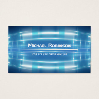 electric design, modern business card