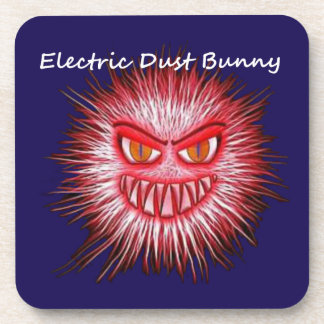 Electric Dust Bunny The Coal Blacks Part 2 Beverage Coaster