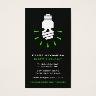 Electric Eco Business Card