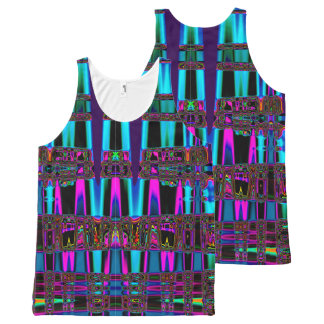 Electric Eel Abstract Art All-Over Print Tank Top