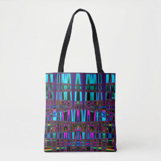 Electric Eel Abstract Art Tote Bag