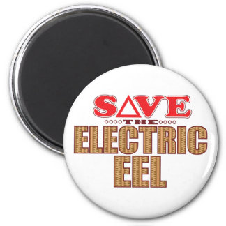Electric Eel Save 6 Cm Round Magnet