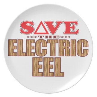 Electric Eel Save Party Plate