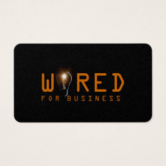 Electric, Electrician, Business Card