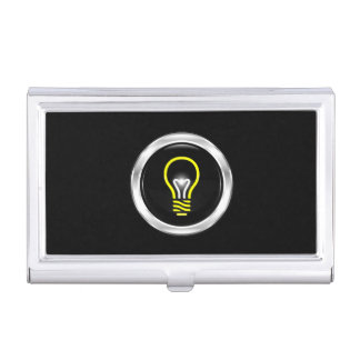 Electric Electrician Business Card Holder