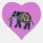 Electric Elephant Sticker