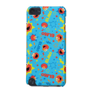 Electric Elmo Pattern iPod Touch 5G Cases