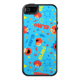 Electric Elmo Pattern OtterBox iPhone 5/5s/SE Case