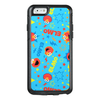 Electric Elmo Pattern OtterBox iPhone 6/6s Case