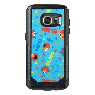 Electric Elmo Pattern OtterBox Samsung Galaxy S7 Case