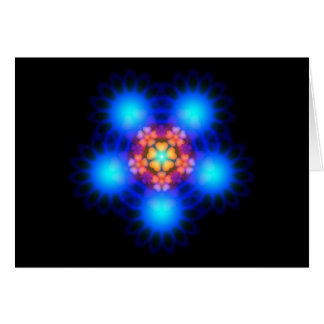 Electric Flowerbed Greeting Card
