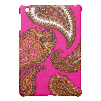 Electric Fuscia Pink Indian Paisley Case For The iPad Mini