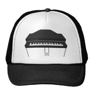 Electric Grand Piano 3D Model Hats
