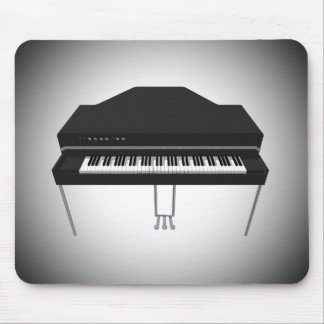 Electric Grand Piano: 3D Model: Mousepad