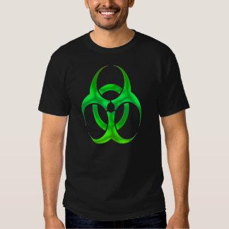 Electric Green Bio Hazard T-shirts