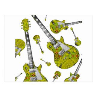 Electric Guitar 05.jpg Post Card