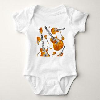 Electric Guitar 09.jpg Baby Bodysuit