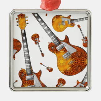 Electric Guitar 12.jpg Christmas Ornament