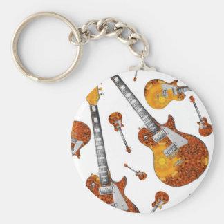 Electric Guitar 12.jpg Key Ring