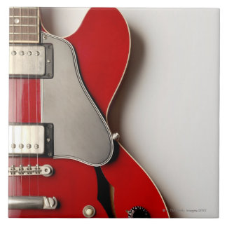 Electric Guitar 12 Large Square Tile