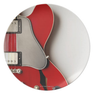 Electric Guitar 12 Party Plates