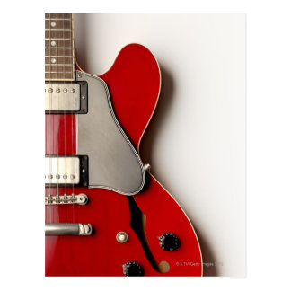 Electric Guitar 12 Postcard